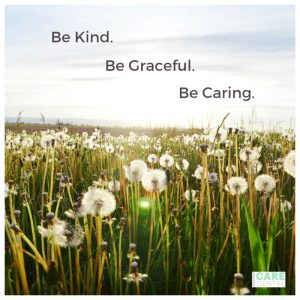#BeKind #BeGraceful #BeCaring