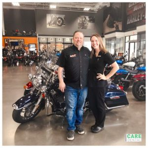 Gasoline Alley Harley Davidson of Kelowna joins #CareDentalPreferredPartnerProgram