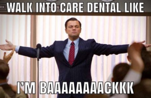 And…. we're off!   Clocks start again for your Dental Benefits.